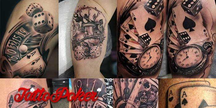Kumpulan Gambar-Gambar Tattoo Menggunakan Design Kartu Poker